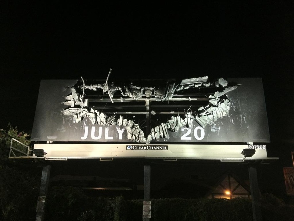 "New Cool Billboard For ""The Dark Knight Rises"""