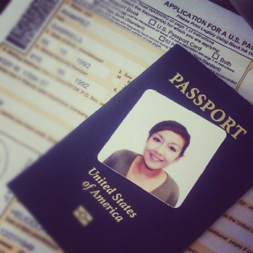 Such a pain to get this renewed. #lifeofanadult #grownup #passport #life  (Taken with Instagram)