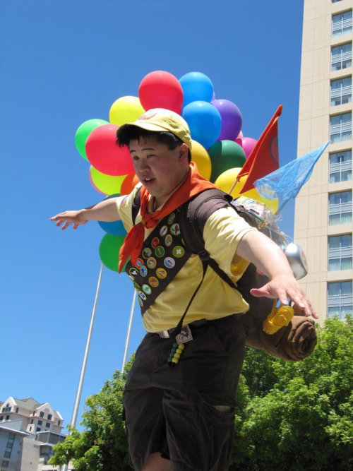 fuckyeahamazingcosplays:   Russell, UP! Cosplayer Photographer Source