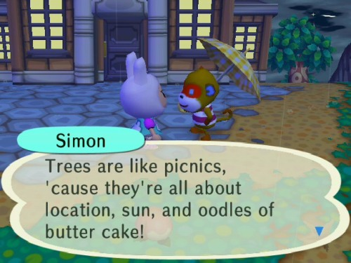 Simon's just the cutest…