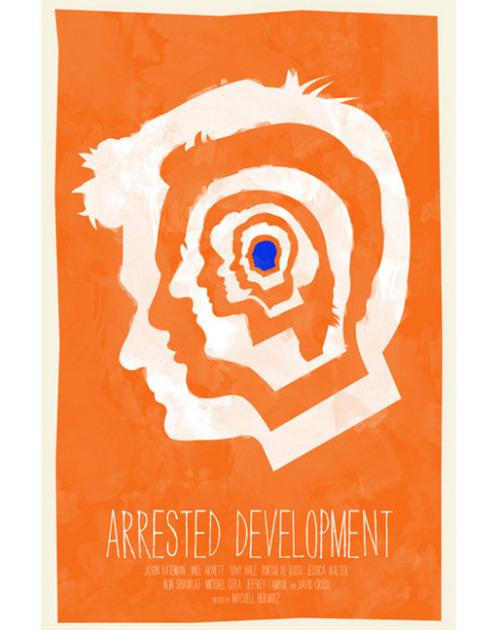 thebluthcompany:  Arrested Development poster by William Henry Design