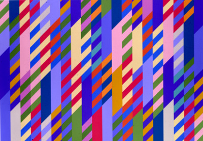 Optical Art. Bridget Riley, June 1992 Milk&HoneyArt