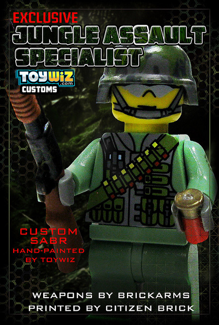 Jungle Assault Specialist on Flickr.Another new custom figure now at ToyWiz.com and Brickarsenal.com