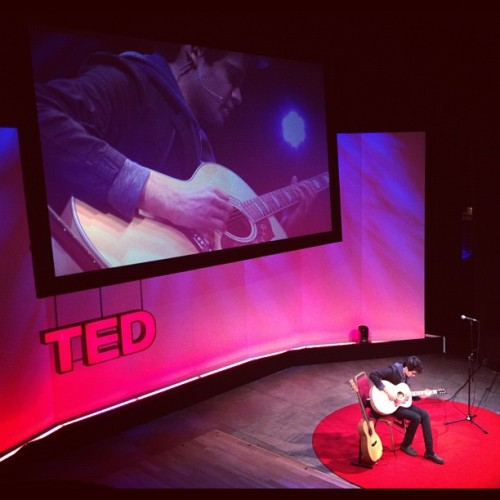 Usman Riaz received a standing ovation when he performed at TED in Edinburgh Scotland today. Follow us on Facebook | Twitter or Submit something or Just Ask!