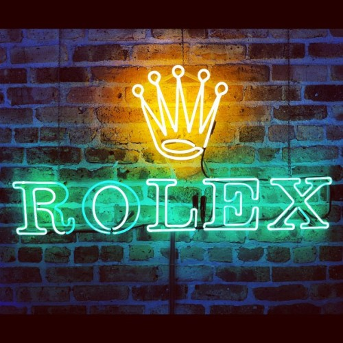 #rolex #rsvp #rsvpgallery #neonlight (Taken with Instagram at Rsvp gallery)