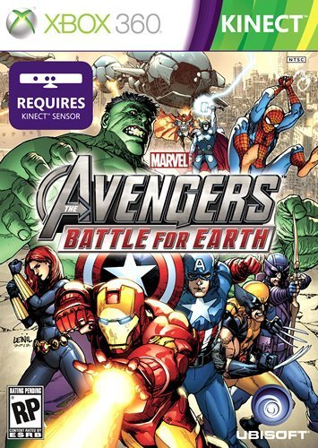 XBOX 360 Avengers FOR KINECT!?! Yes please!