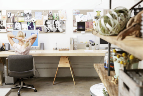 Feel good in your work space, and productivity comes along