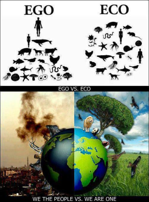 atheistangel:  Eco vs Ego.  Great picture!!