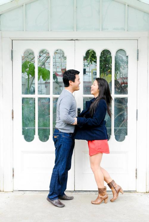 Engagement photoshoot in San Francisco