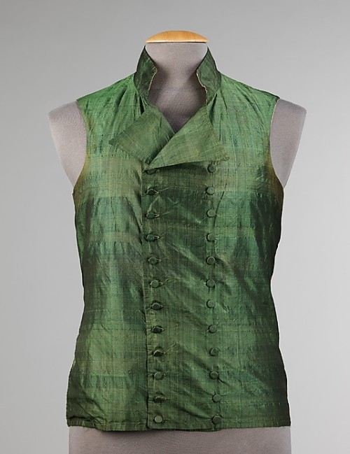 Vest 1810-1819 The Metropolitan Museum of Art