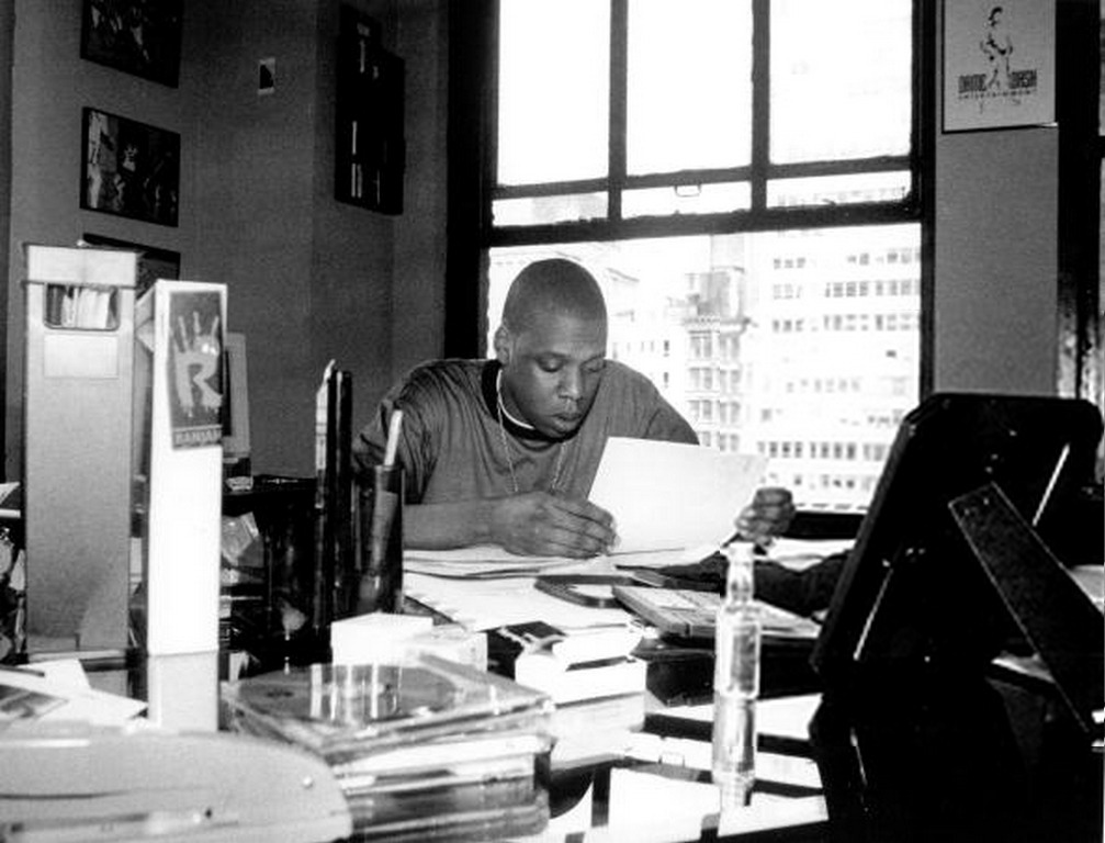 "upnorthtrips:  22 Pictures of ""Reasonable Doubt"" Era Jay-Z Today is the 16 year anniversary of Jay-Z's debut album, Reasonable Doubt. To celebrate, we hooked up with UpNorthTrips and got 22 pics (for his 22 twos) of Jigga back when he used to spell his name Jaÿ-Z (we never understood what that umlaut was all about) and you could actually get Kareem ""Biggs"" Burke to take a picture. For those of you who may not have been paying attention to the Jiggaman in 1996, this is what the birth of a legend looks like"
