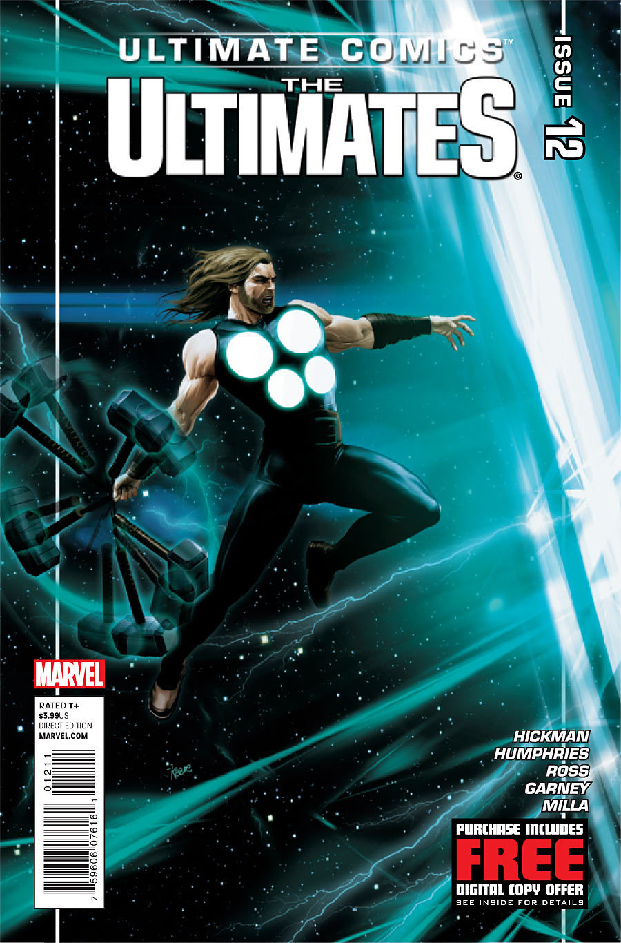 Preview: Ultimates #12 I wrote a Coen Bros. reference into Ultimates #12, on sale Wednesday. First person to find it gets autographed copies of issues 10-12! ULTIMATES issue 12 Two Cities, Two Worlds ON-SALE JUNE 27