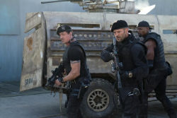 Stallone, Statham and Crews