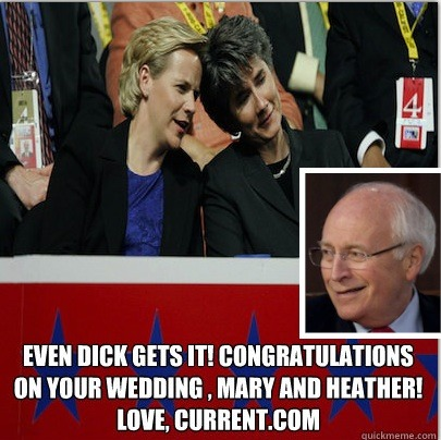 Dick Cheney's daughter Mary married her long-time partner Heather Poe on Friday in Washington D.C.