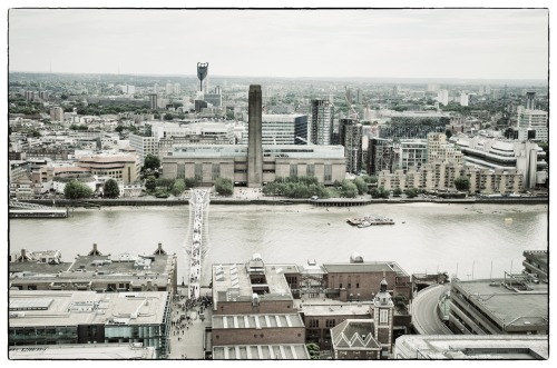 From the top of St Paul's Cathedral, London