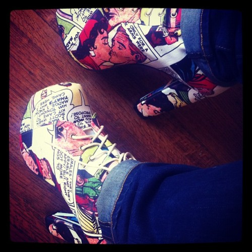 Comicon shoes arrived!  (Taken with Instagram)