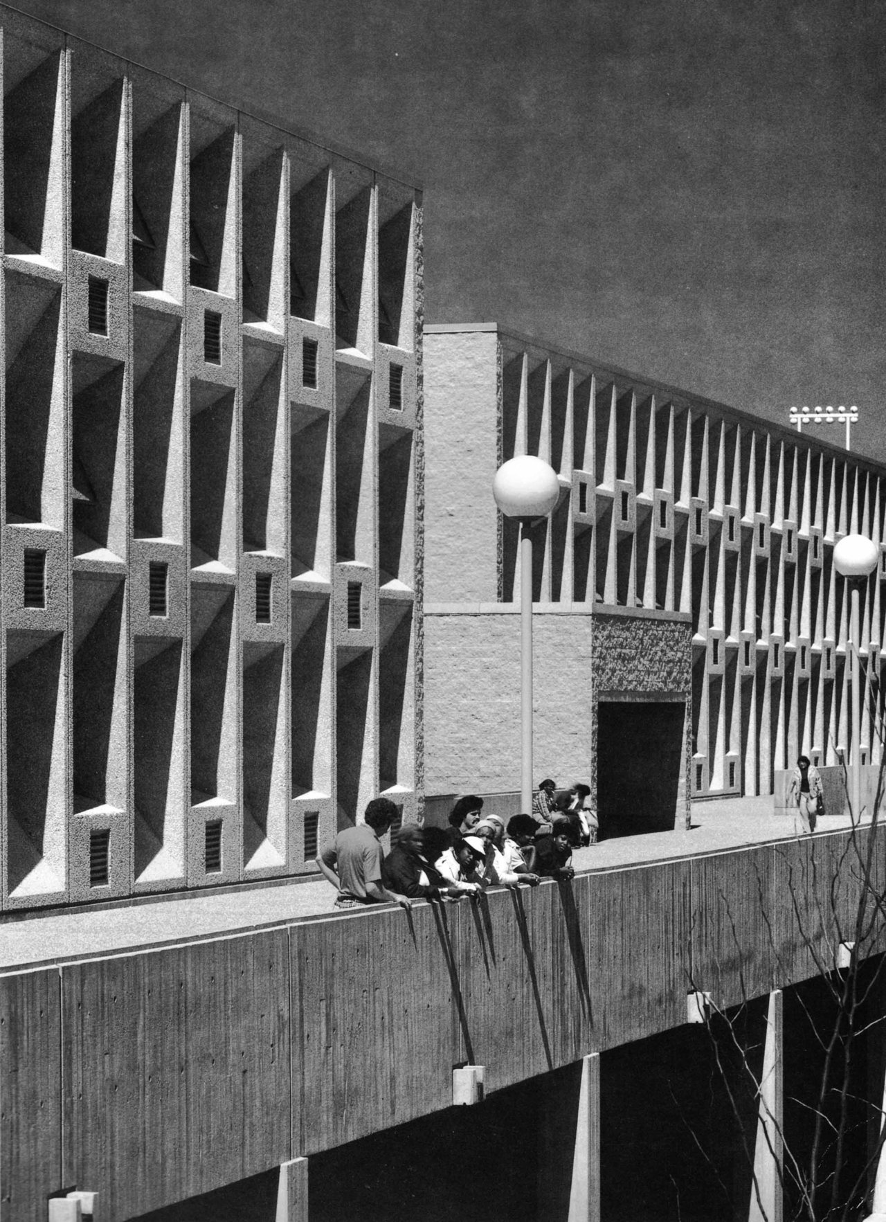 New Campus High School, Roxbury, Massachusetts, 1978 (Marcel Breuer & Associates)