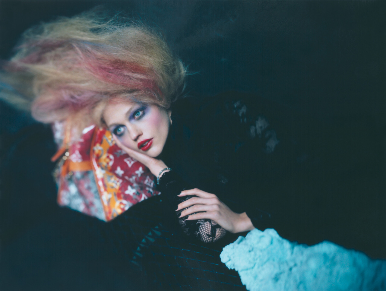 Photo by Paolo Roversi Don't look at us. It's Monday, we need a nap.