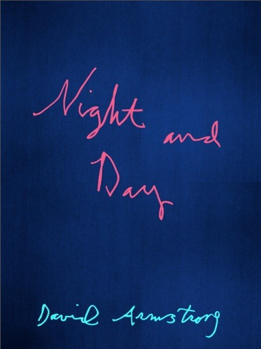 Night & Day: David Armstrong 150+ pages | 21 X 28 cm Casebound with Blue cloth   Cover Designed by Rene Ricard - Conversation Jack Pierson Publisher's Description: Night & Day brings together a selection of iconic Kodachrome pictures from David Armstrong's archive of the late 70's and early 80's New York scene.  The images illuminate an intimate and carefree epoch of innocent-bohemian wilderness -a time just before the tumultuos 80's.  Dispersed through out the series are images of generation of youngsters which changed culture - including Rene Ricard, Philip-Lorca diCorcia, Jean-Michel Basquait, John Waters to mention a few.  Vernacular yet with a undeniable ability to capture and create timeless images, David Armstrong's Night & Day tells tales of a bygone era.  The book contains 110 images, including a facsimile of an  original poem typed out in 1979 by Rene Ricard. (via Mörel David Armstrong)
