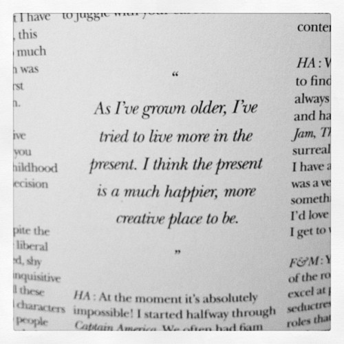 Hayley Atwell. #words #quote #thingsilike  (Taken with Instagram at Therainniareht.tumblr.com)