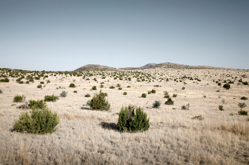 Emerging from Pinto Canyon Ranch on the way to Marfa, Texas from a series in West Texas Mark Peter Drolet