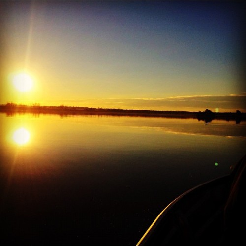 Another beautiful #sunset at #rowing #water (Taken with Instagram)