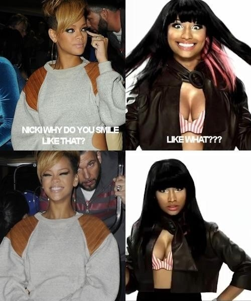 Rihanna vs Nicki Minaj