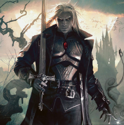 Sorin, Lord of Innistrad. Art by Michael Komarck.