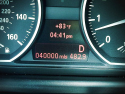 My baby turned 40K miles today.