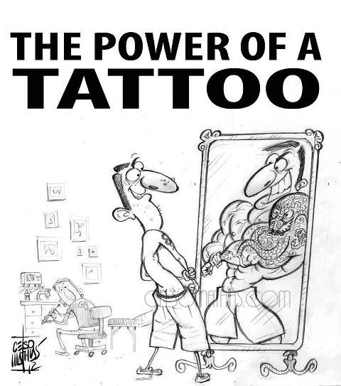 THE POWER OF A TATTOO :)