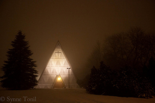 Bakkehaugen kirke by Synne Tonidas on Flickr.