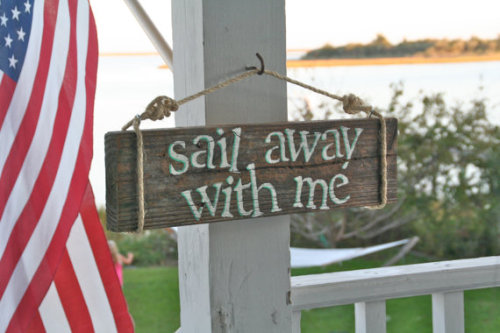 """Sail Away with Me"" by Dockside Cottage on Etsy"