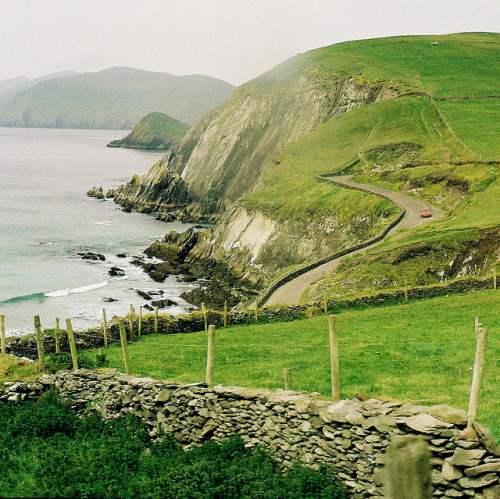 ysvoice:  | ♕ |  Coastal drive in Ireland  | by © Sebastian Johnson
