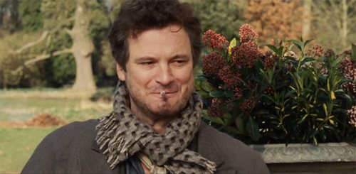 Colin Firth and his adorable smile from various movies.