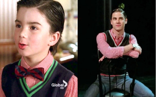 suspendersandblaine:  ohiostarkid:  Blaine Anderson how long have you owned that shirt.  well i mean, it's not like he out grew it.   it's not like he out grew it