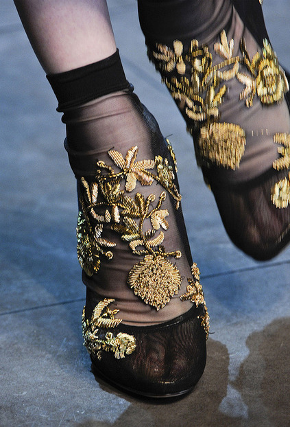 sloppy:  Dolce and Gabbanna F/W 2012