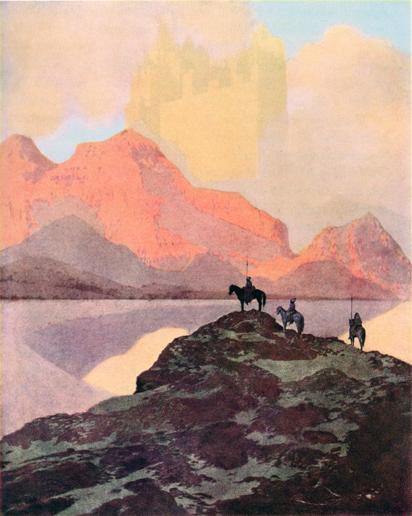 City of Brass. Maxfield Parrish.