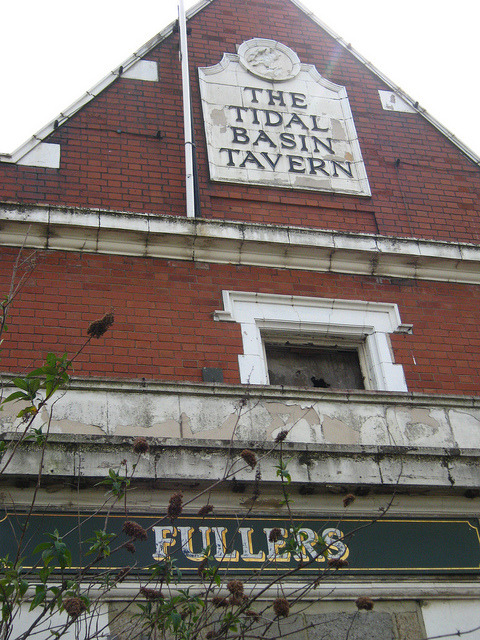 Derelict London: The Tidal Basin Tavern on Flickr.Derelict London: The Tidal Basin Tavern, Royal Victoria Docks