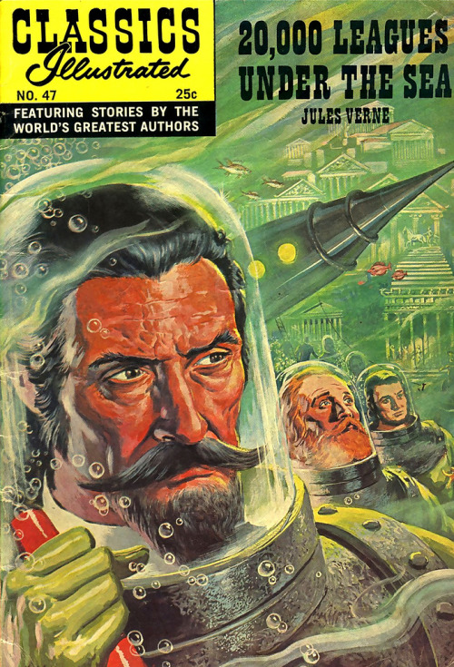 What a classic: 20,000 Leagues Under The Sea - Jules Verne