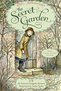 The Secret Garden by Frances Hodgson Burnett ever since I read this book at age six I've been in love with the story, the whole idea, a garden. I fell in love with Victorian art, lifestyle and decor. I want a secret garden & a victorian mansion. I've seen every film adaption of this book also :)