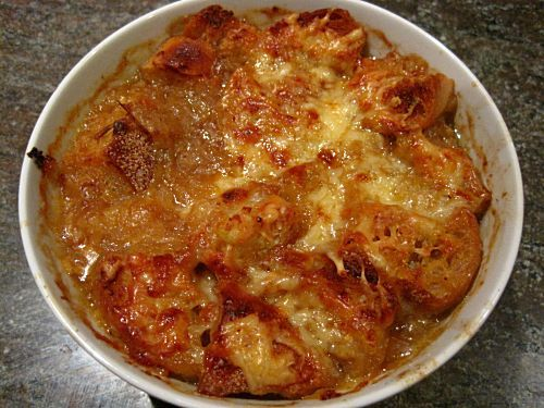 French onion soup    via KelsEats