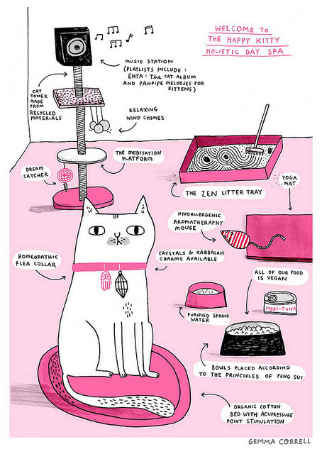 Comical Animal by gemma correll on Flickr.