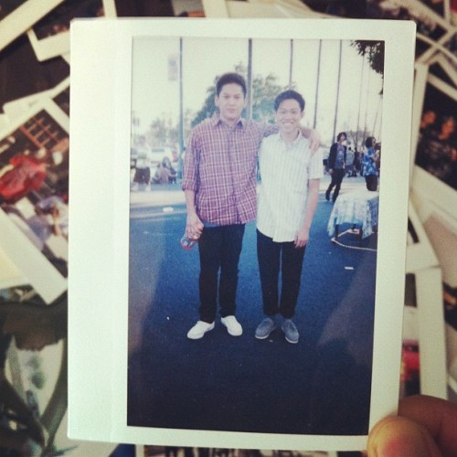 1/365 daily #instax .📷 #moonblockparty #summer  #pomona (Taken with Instagram)