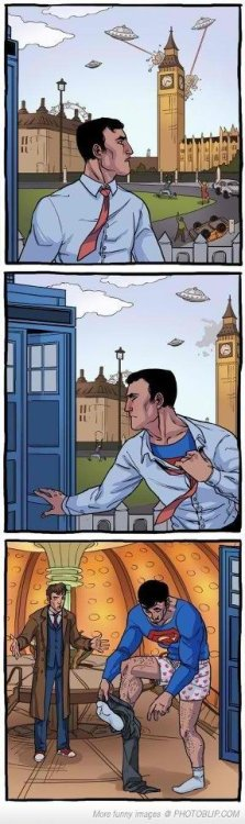 Why would Superman be in Europe?