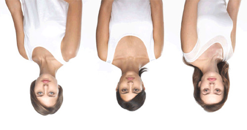 Try to look upside-down!
