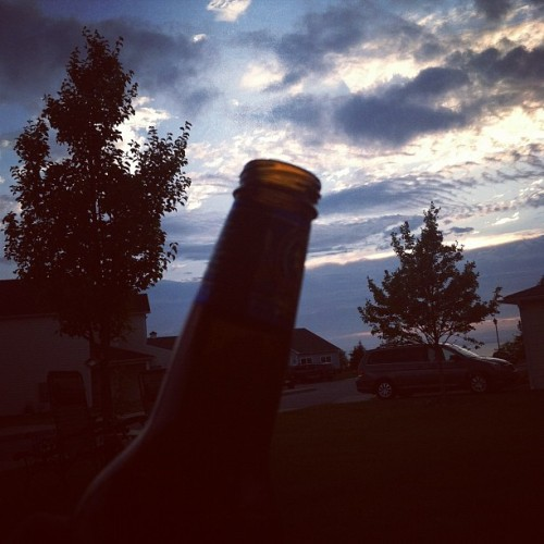 #vacation #sunset #rhodeisland #beer  (Taken with Instagram at Middletown, RI)