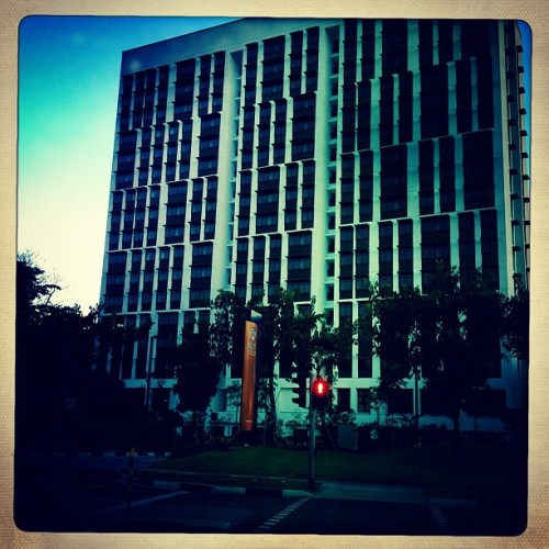 NUS bldg (Taken with Instagram)