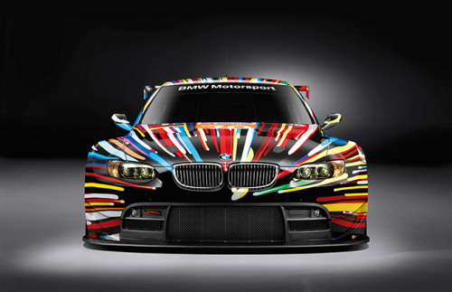 bmw art car [jeff koons]