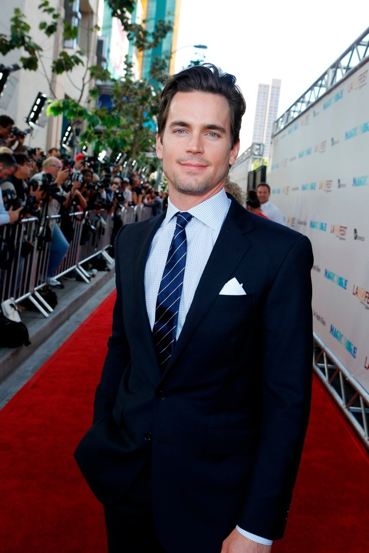 My future husband Matt Bomer being perfect at theMagic Mikepremiere. Which, by the way, has been getting great reviews.