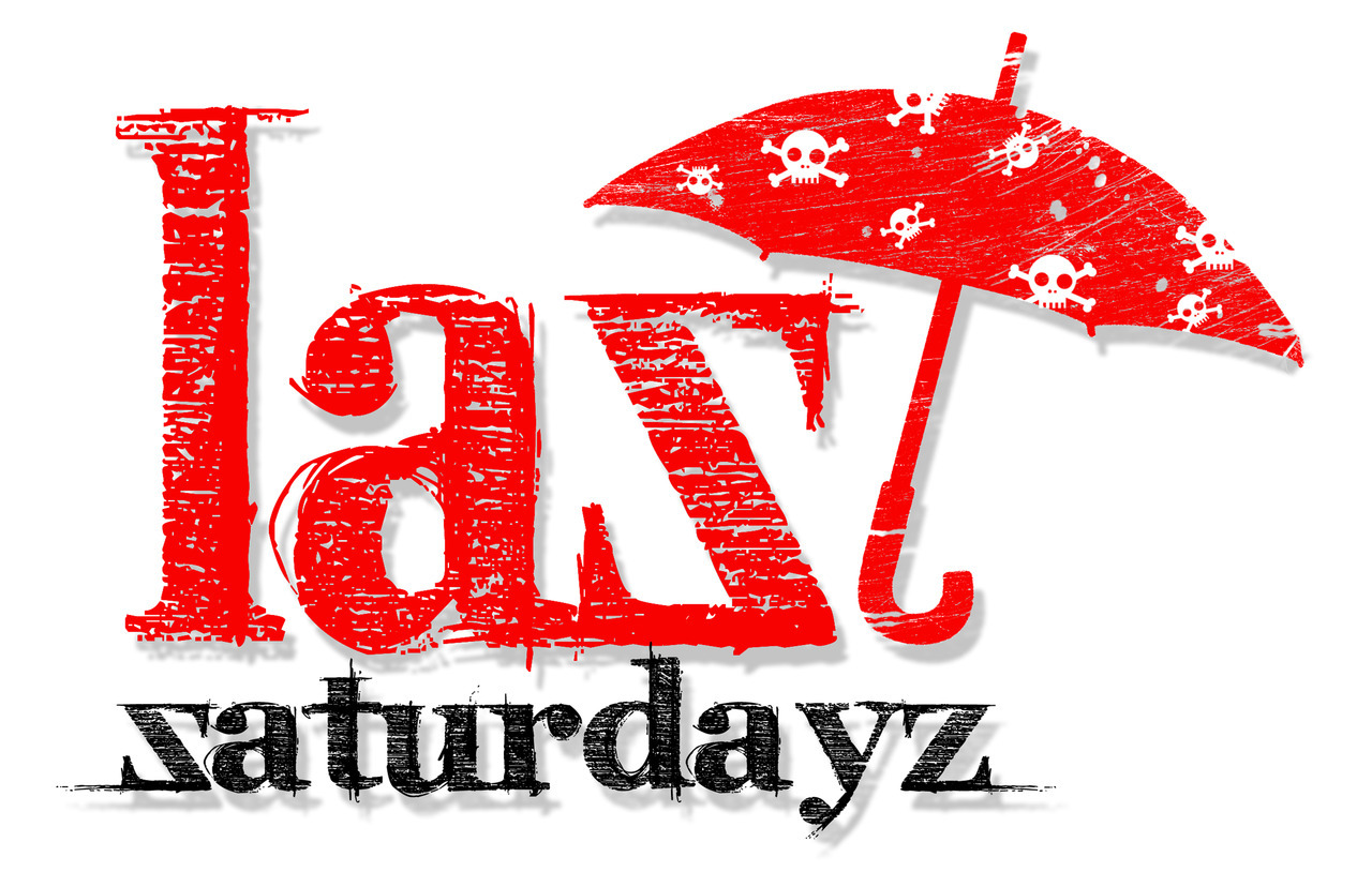 'Last Saturdays' logo ©2012 MiLKSOP STUDiO